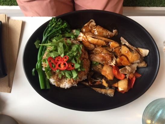 Khao and Bao Chicken